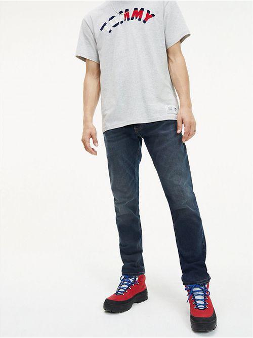 Jean-con-efecto-lavado-de-corte-slim-Tommy-Hilfiger