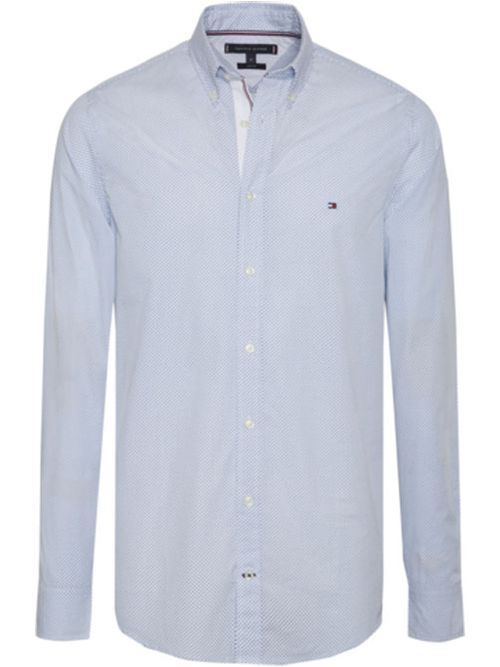 Camisa-Essential-con-microestampado-de-puntos-Tommy-Hilfiger