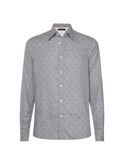 Camisa-estampada-de-algodon-dobby-Tommy-Hilfiger