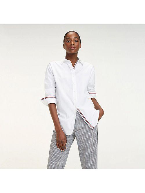 Camisa-Essential-oversize-de-algodon-organico-Tommy-Hilfiger