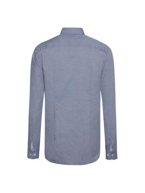 Camisa-Essential-de-raya-diplomatica-Tommy-Hilfiger