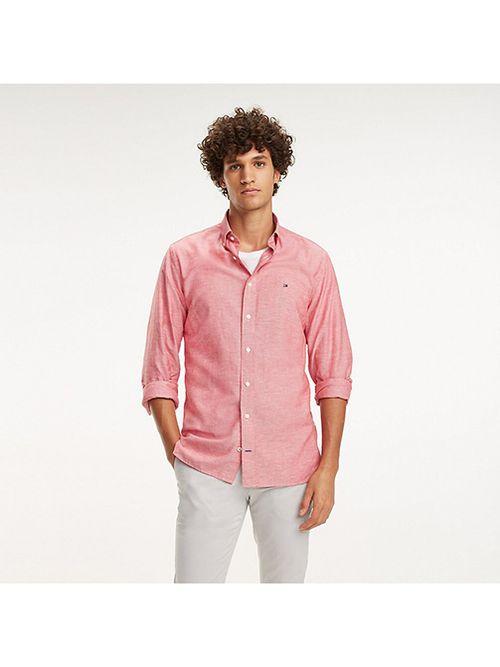 Camisa-Essential-de-algodon-elastico-Tommy-Hilfiger