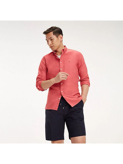 Camisa-de-puro-algodon-con-media-tapeta-Tommy-Hilfiger