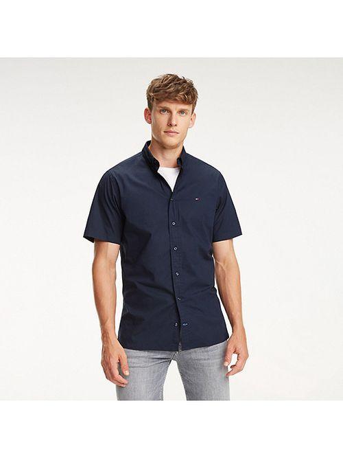 Camisa-de-popelin-de-algodon-elastico-Tommy-Hilfiger