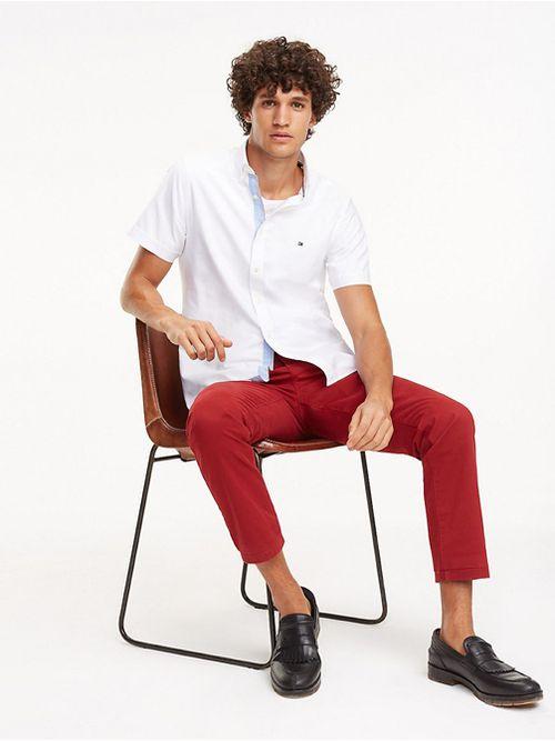 Camisa-de-algodon-de-manga-corta-Tommy-Hilfiger