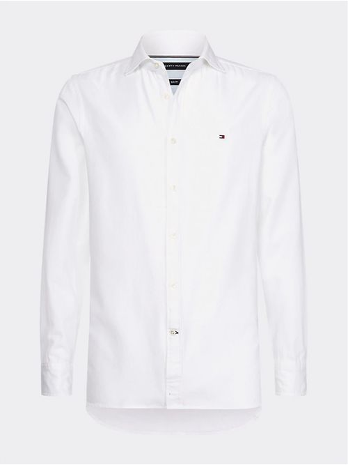Camisa-Power-Stretch®-de-corte-slim-Tommy-Hilfiger