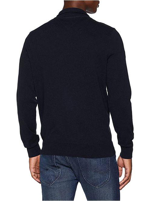 Sweater-de-media-cremallera-con-paneles-Tommy-Hilfiger