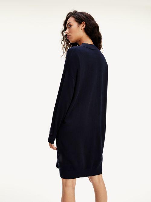 Vestido-sudadera-TH-Warm-de-corte-amplio
