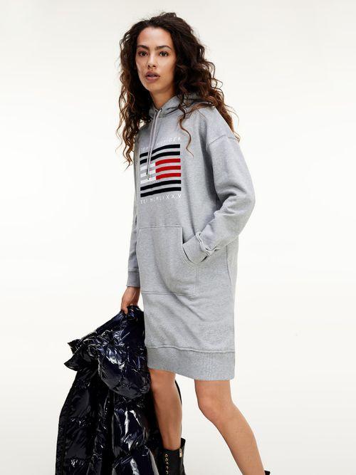Vestido-sudadera-de-algodon-organico-con-capucha
